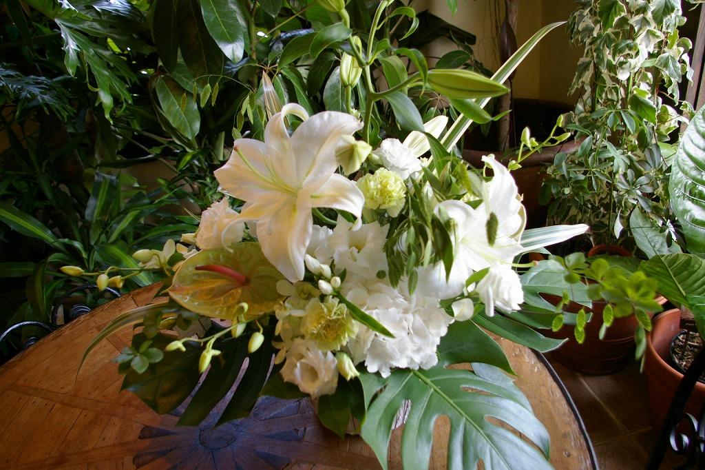 お供えの花 生花アレンジメント Lサイズ 参考No.29