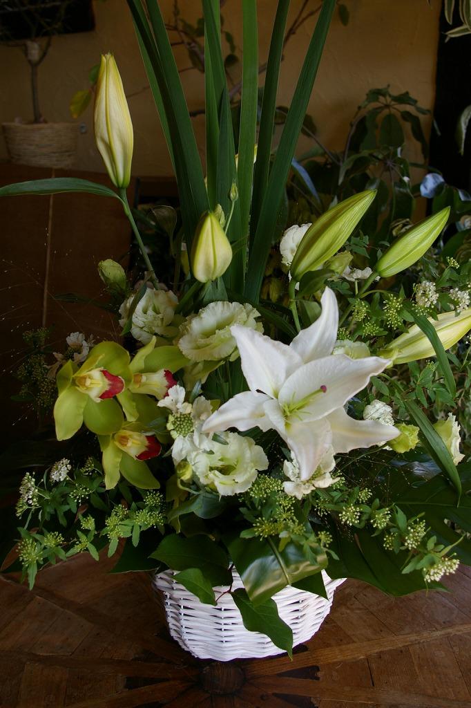 お供えの花 生花アレンジメント Lサイズ 参考No.54