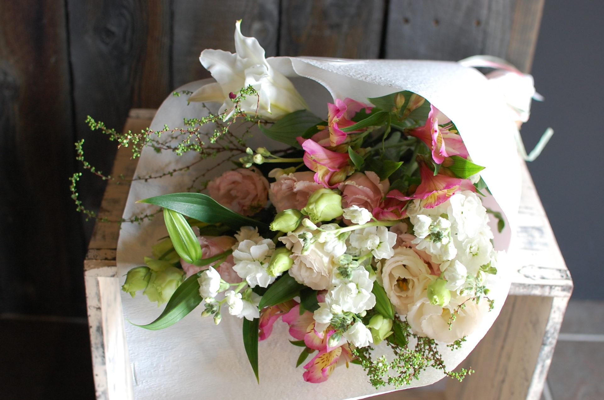 お供え花 花束 LLサイズ 参考No.8